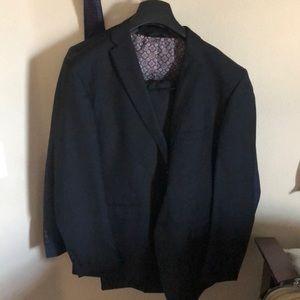 $230 black suit with pants